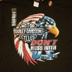 Mens Lg Harley Davidson tee